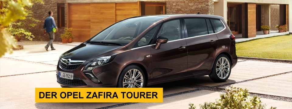 Slider Zafira Tourer